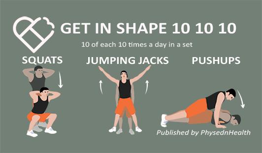 Squats Jumping Jacks Push-ups
